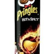 Pringles Pringles Hot&Spicy -Doos 19 stuks