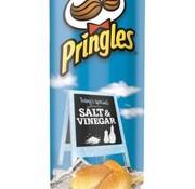Pringles Pringles Salt&Vinegar -Doos 9 stuks