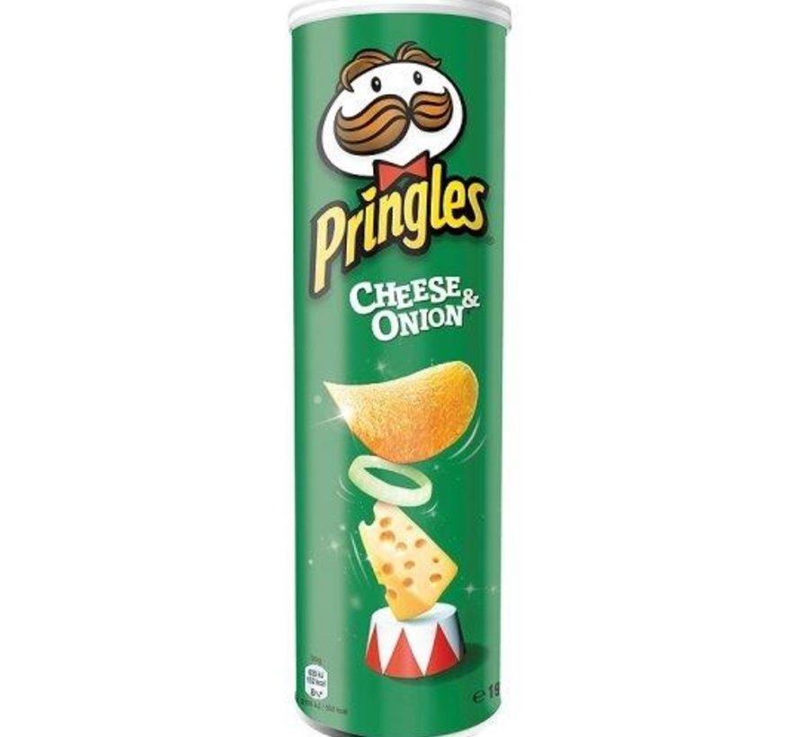 Pringles 165gr Cheese Onion -Doos 9 stuks