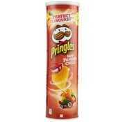 Pringles Pringles Hot Paprika Chili -Doos 19 stuks