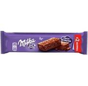 Milka Milka Brownie Melk 2X25gr -Doos 24 stuks