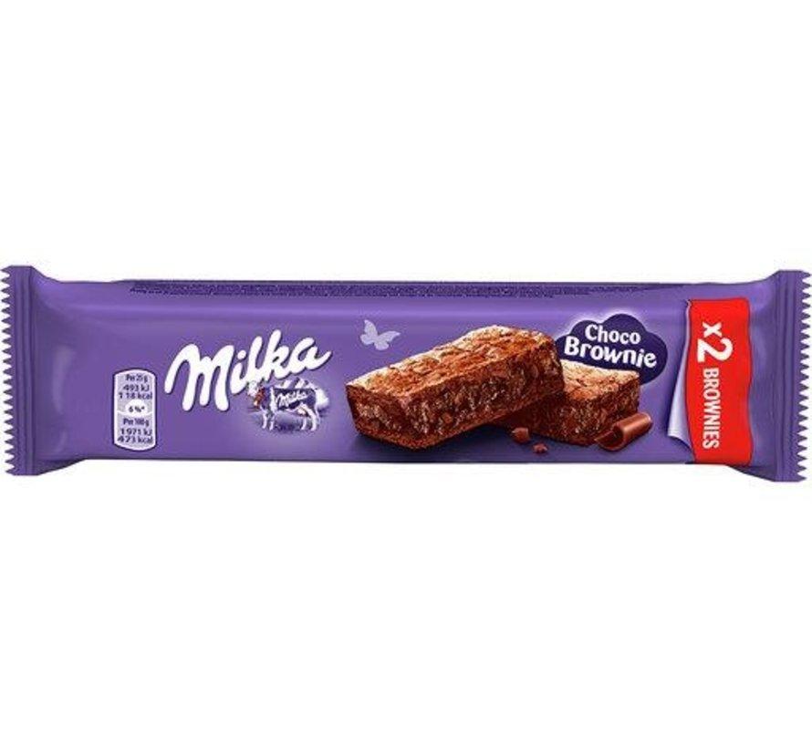 Milka Brownie Melk 2X25gr -Doos 24 stuks
