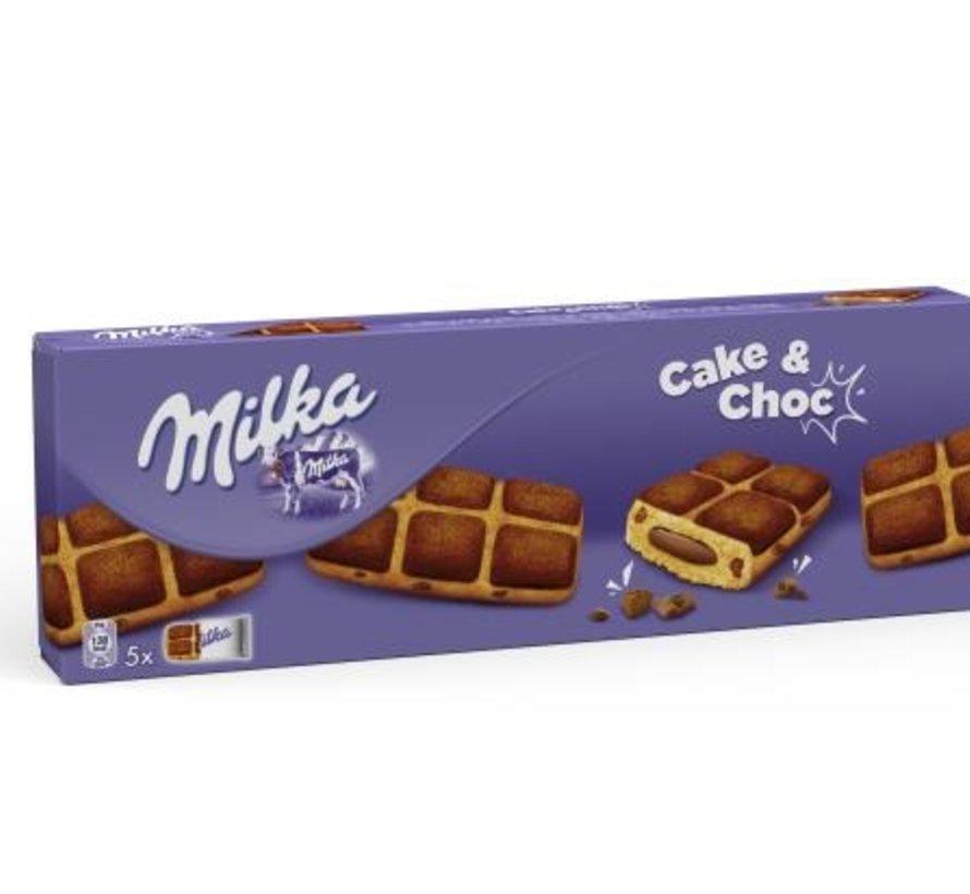 Milka Cake & Choc 175gr -Doos 16 stuks