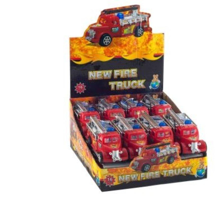 New Fire Truck -16 stuks