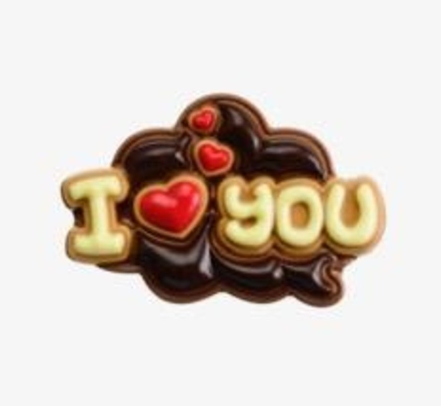 130gr I Love You Melk Tablet -Doos 8 stuks