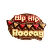 Sweet Talk Chocolade tablet 130gr 'Hip Hip Hooray' -Doos 8 stuks