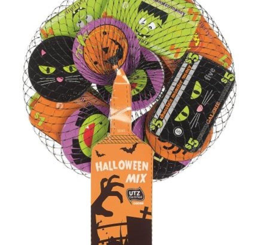 Halloween Munt & Biljet100gr -Doos 30 stuks