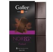 Galler Chocolade  Extra Puur 85% Tablet -Doos 10 stuks