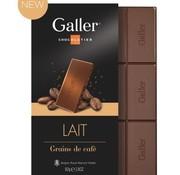 Galler Chocolade Melk Koffiebonen Tablet -Doos 10 stuks