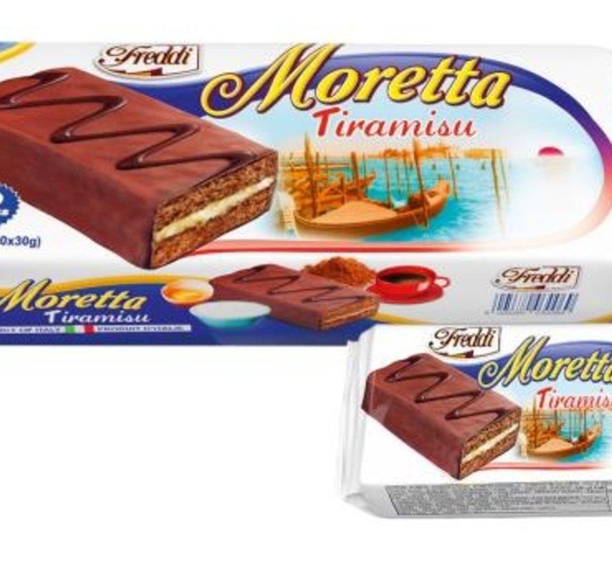 Moretta Tiramisu 10X30gr -Doos 12 stuks