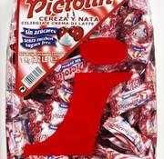 Intervan Pictolin Cherry&Cream SUIKERVRIJ -1kg