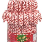 Holland Foodz Candy Canes -Silo 72 stuks