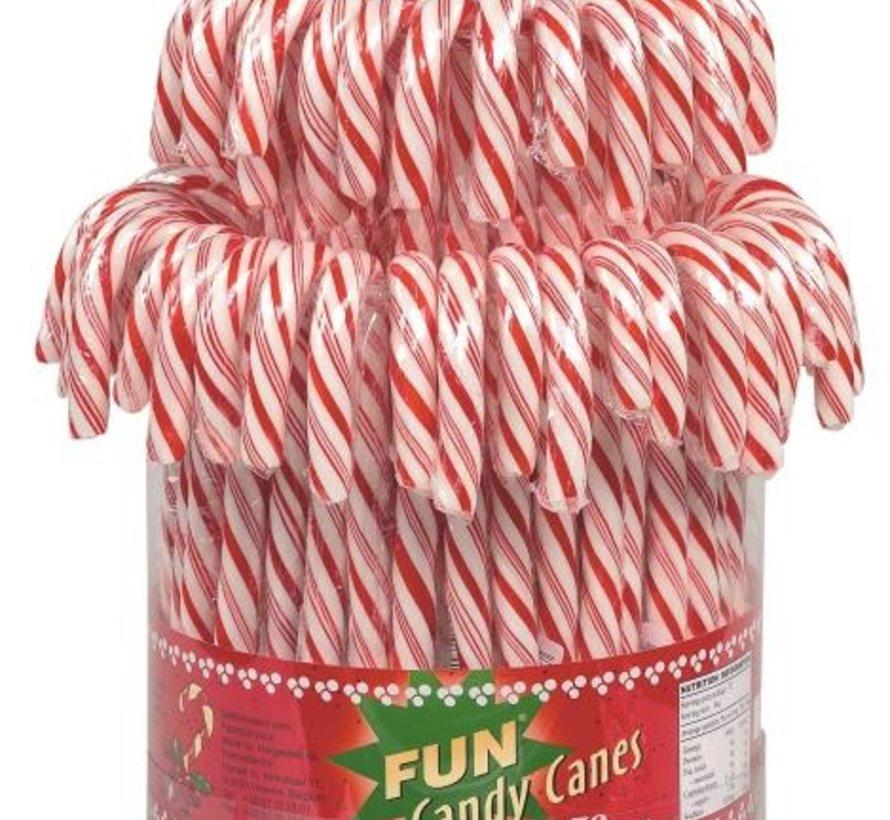 Silo Candy Canes 72 stuks ca. 1kg
