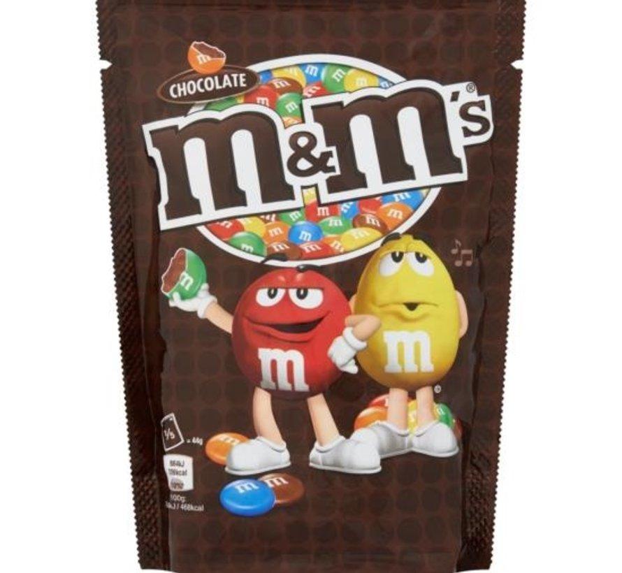 M&Ms Choco Family Bag 220 gram -Doos 12 stuks