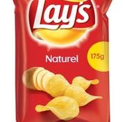 Lays Lays Chips Naturel 175 gram -Doos 8 stuks