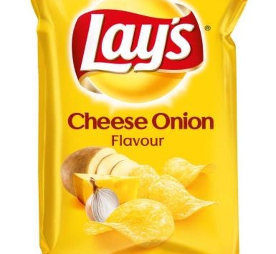 40gr Lays Cheese Onion -Doos 20 stuks