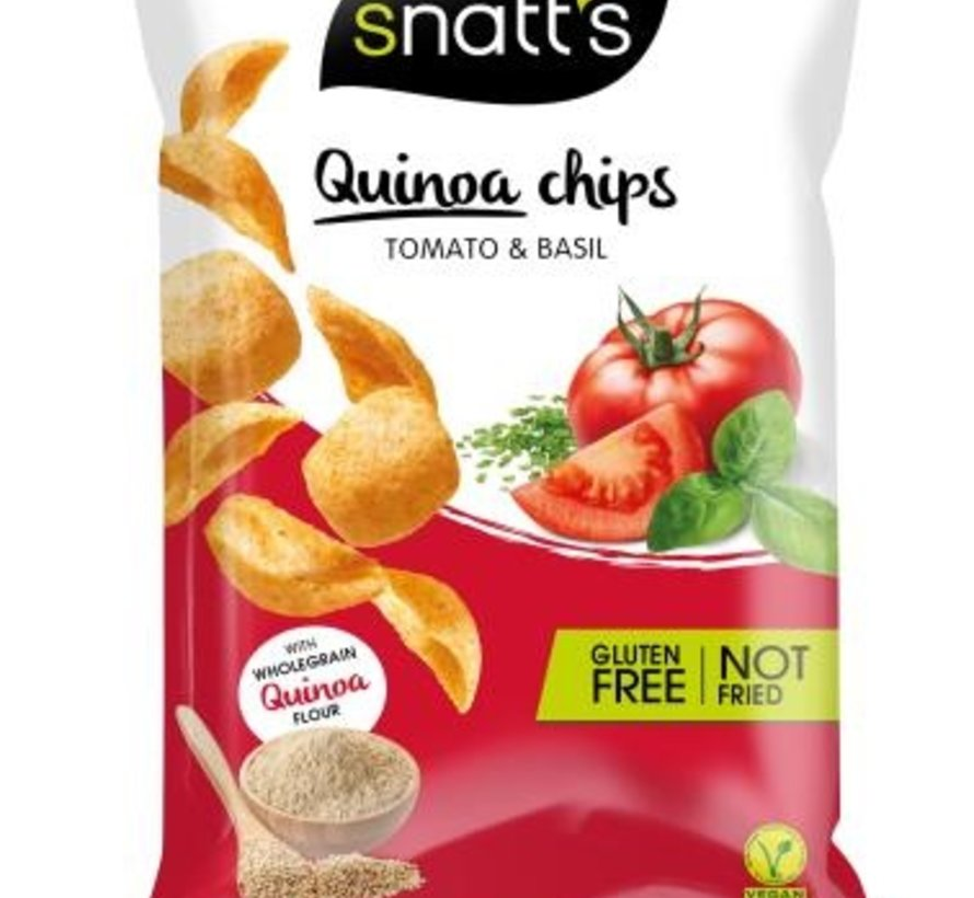 85gr Snatts Quinoa Chips GLUTEN VRIJ -Doos 12 stuks