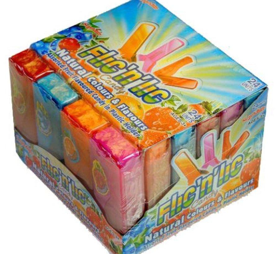 Candyman Flic'N Lic -Doos 24 stuks
