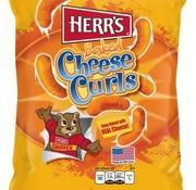 Herr's Food Inc Herr's Cheese Curls -Doos 12x199 gram