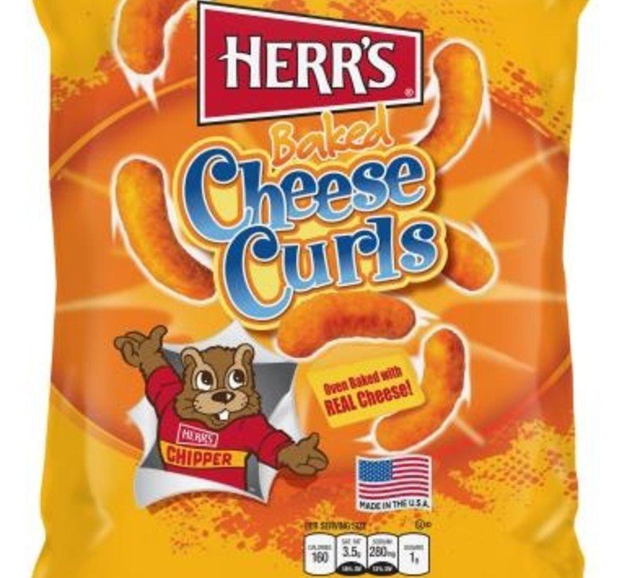 Herr's Cheese Curls -Doos 12x199 gram
