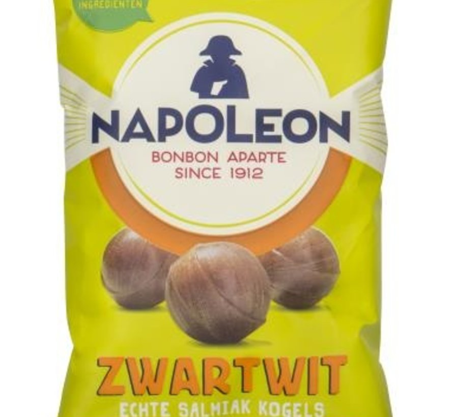 Napoleon Zw/Wit Kogel - 12 zakjes a 150 gram