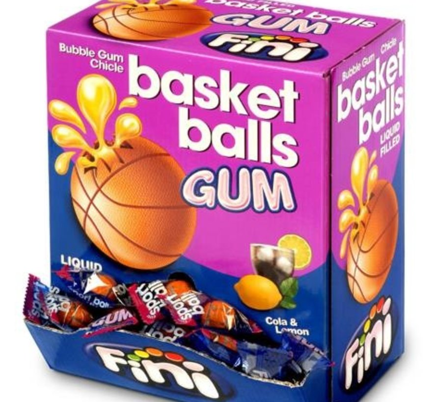 Basketbal Kauwgom -Doos 200 Stuks