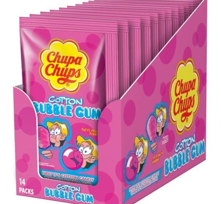 Chupa Cotton Gum Tutti Frutti Doos 14 Stuks
