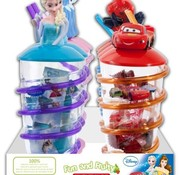 Bip Fruity Fun And Fruity Disney Mix  Fruity Straw Cup Doos 8 Stuks