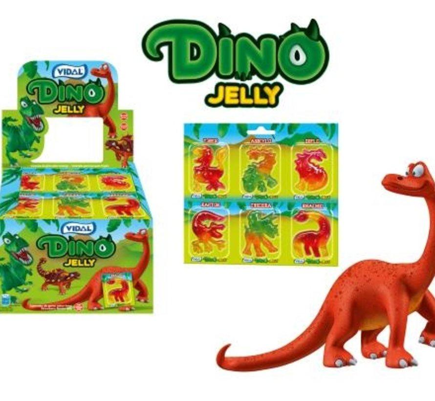 Dino Jelly In Blister GLUTEN VRIJ  -Doos 66 Stuks