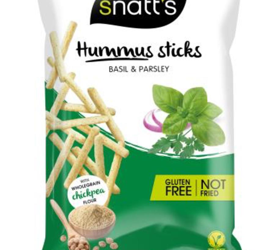 85gr Snatts Hummus GLUTENVRIJE Sticks -Doos 12 stuks