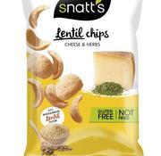 Snatt's Snatts Lentil Chips GLUTEN VRIJ -Doos 12 stuks