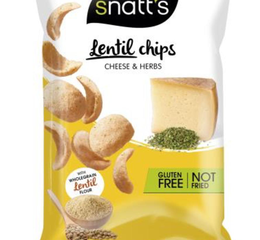 85gr GLUTENVRIJE Snatts Lentil Chips -Doos 12 stuks