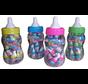 Baby Fles Blauw Of Roze Xxl  Met 20 Stuks Mini