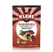 Klene Klene Dropgums Suikervrij - 105 gram - Doos 12 stuks