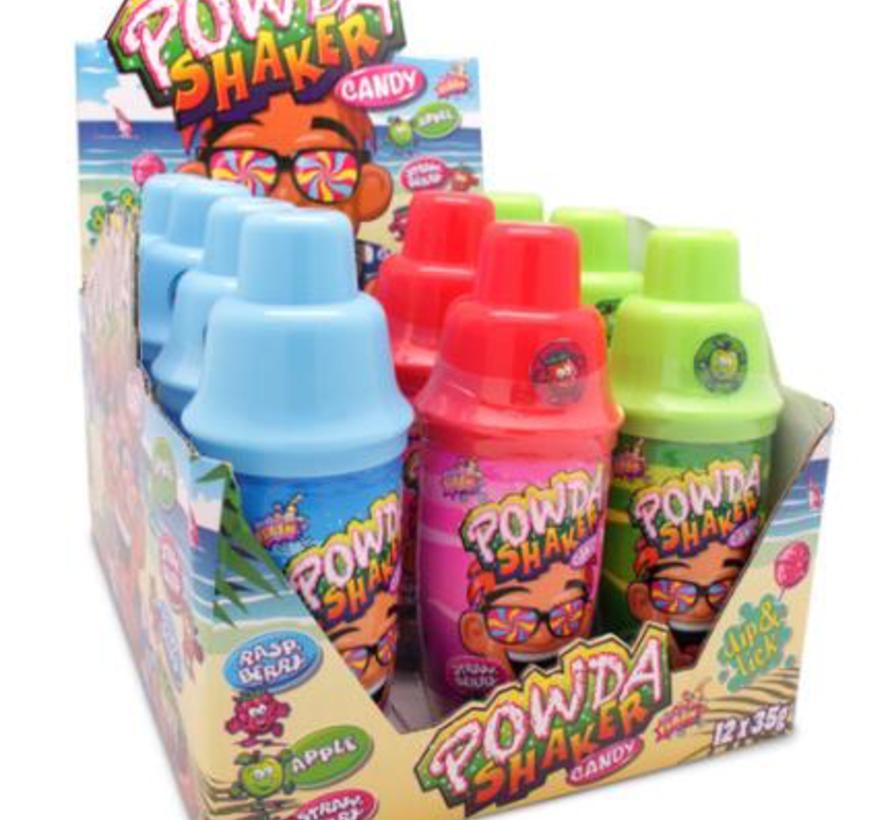 Powda Shaker Lollie Dip  Doos 12 Stuks