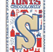 Tony'S Chocolonely Tony's Wit Letter S -Doos 15 stuks