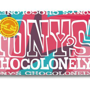 Tony'S Chocolonely Tony's Chocolonely Puur Chili Fudge Roze Peper -Doos 15 stuks