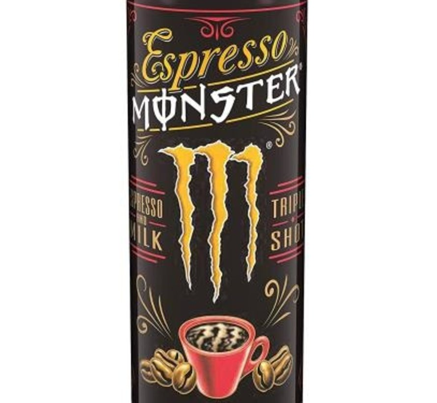 Monster Espresso Milk -Tray 12 stuks