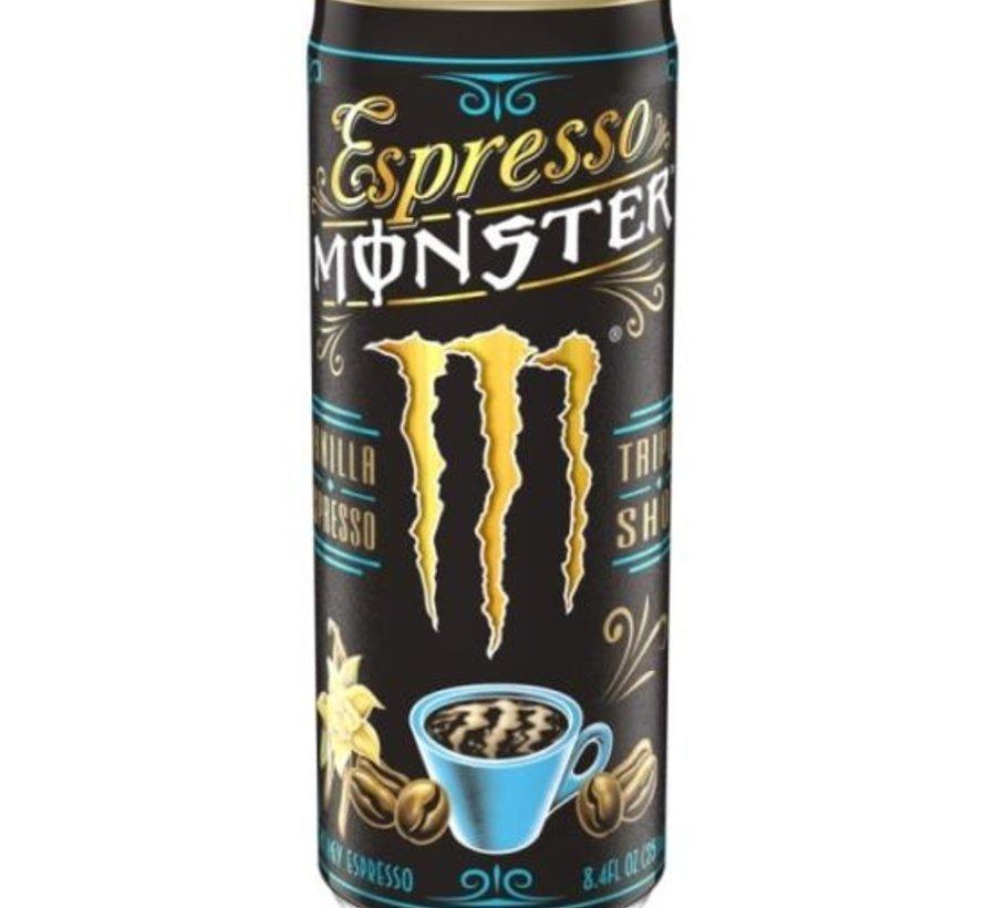 Monster Triple Shot Energy Espresso Vanilla- 12x250ml