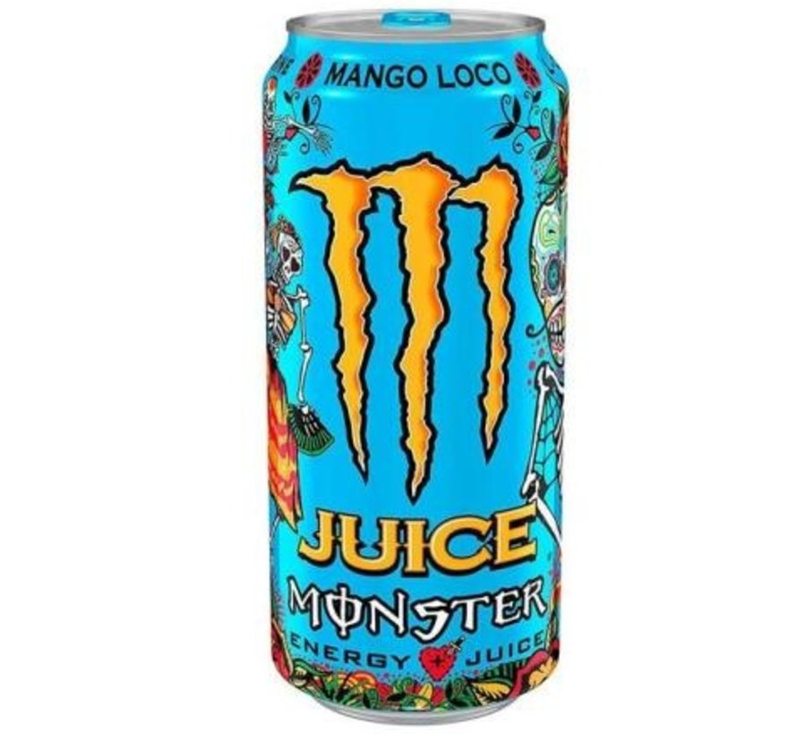 Monster Energy Mango Loco- Tray 12 stuks