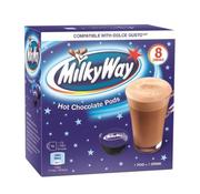 Mars Milky Way Hot Chocolate pods Dolce Gusto -Doos 8 stuks