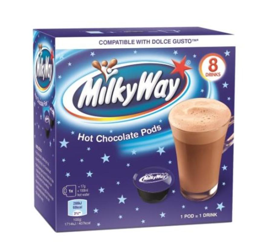 Milky Way Doce Gusto  hot chocolate pods- 8 stuks