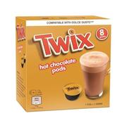 Mars Twix Hot Chocolate pods Dolce Guste -Doos 8 stuks