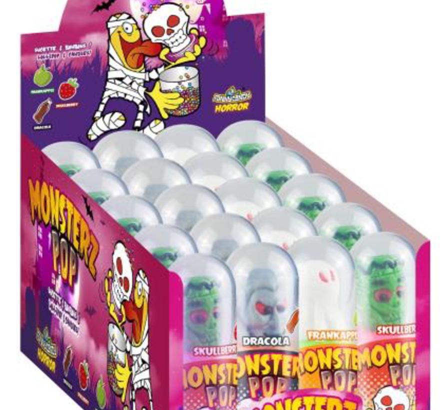 Halloween Monster Popz -Doos 20 stuks