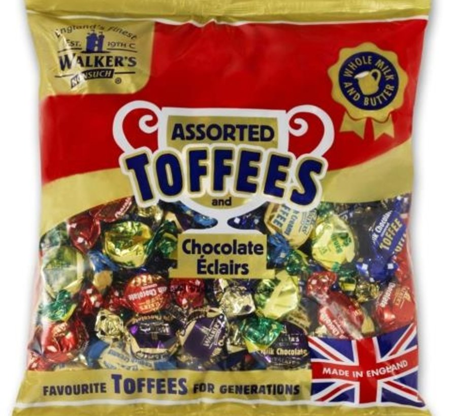 GLUTENVRIJ en VEGGIE Toffee Mix Walker's