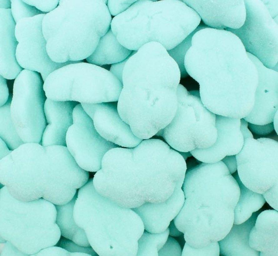 Clouds Blauwe Wolken snoep GLUTENVRIJ & LACTOSEVRIJ - 1 kilo