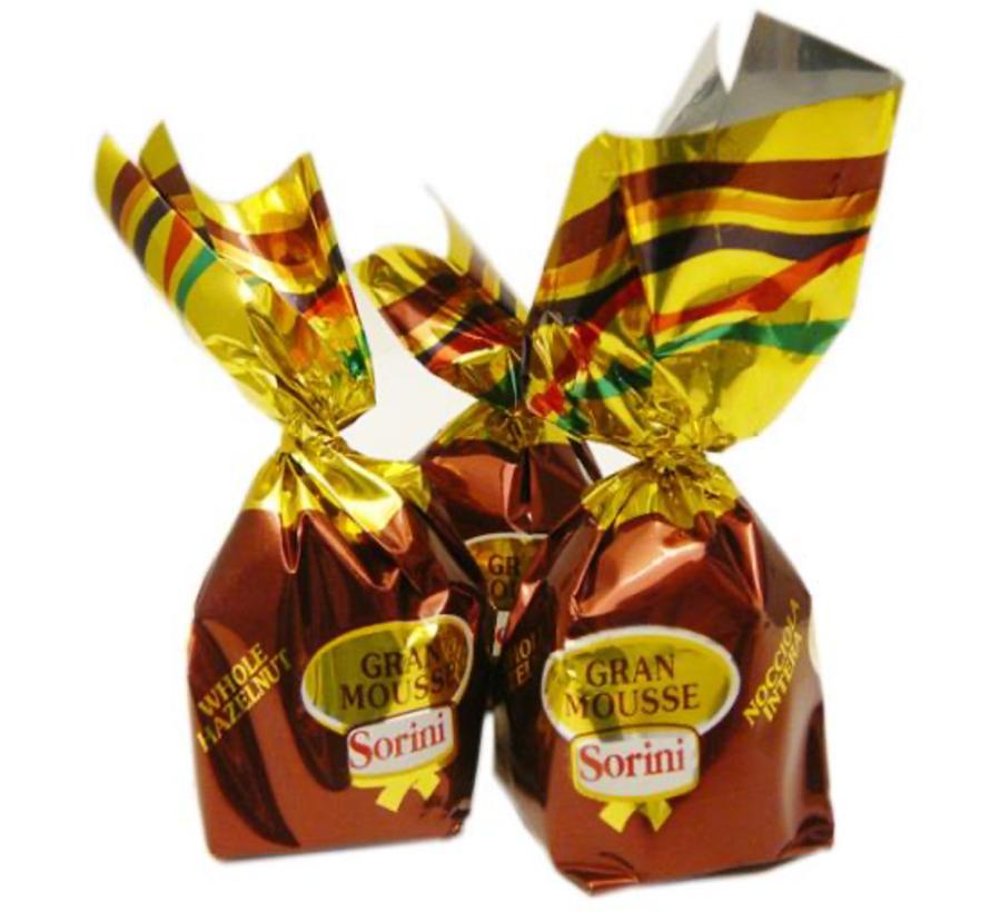 Chocolade Kogel Gran Mousse Hazelnoot -1 Kilo
