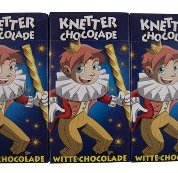 Baronie Knetter Witte Chocolade 3X 50Gr Doos 16 Stuks
