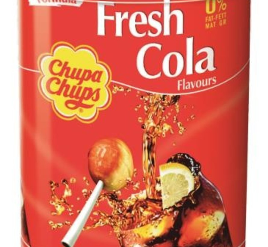 Chupa Chups Fresh Cola Silo- 100 stuks