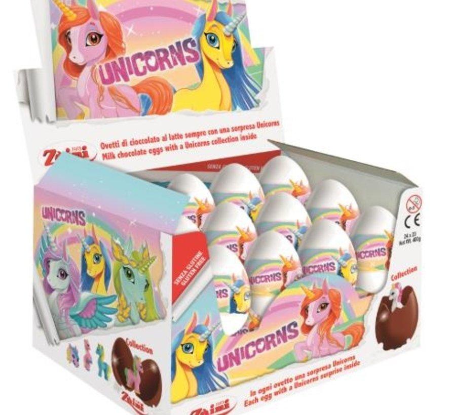 Unicorn Surprise Ei -Doos 24 Stuks